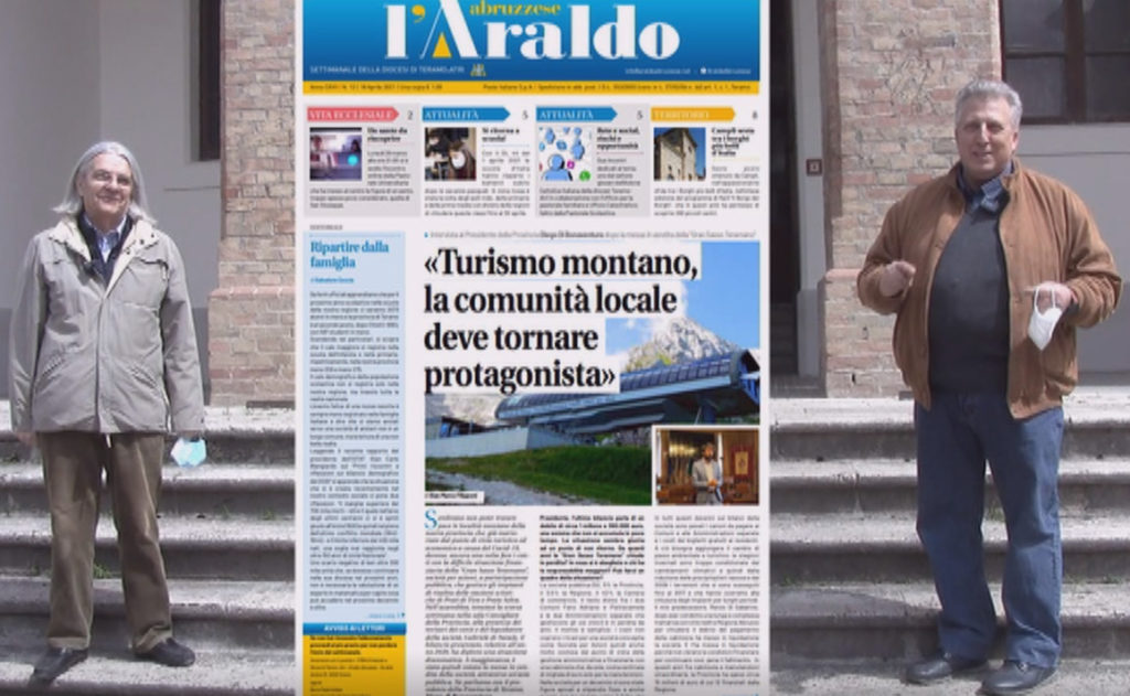 WWW.TERAMOWEB.IT – L' Araldo ci racconta – Puntata del 17-04-2021