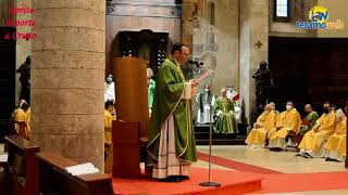 Don Adamo Varanesi nuovo parroco della cattedrale di Teramo.Le sue parole subito dopo l'insediamento